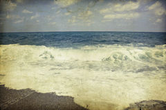 Vintage beach Royalty Free Stock Images