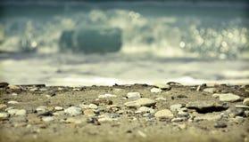 Vintage beach Stock Image