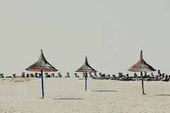 Vintage beach background Royalty Free Stock Image