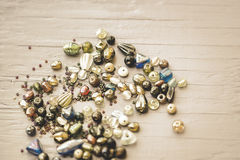 Vintage Beads Stock Images