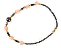 Vintage beads and stone bracelet Royalty Free Stock Photo
