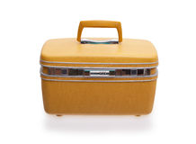 Vintage beaty case or make-up case Royalty Free Stock Photos