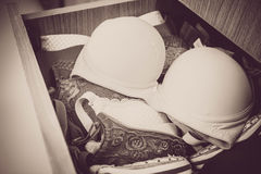 Vintage beautiful Bras Royalty Free Stock Image