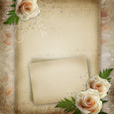 Vintage beautiful wedding background Royalty Free Stock Images