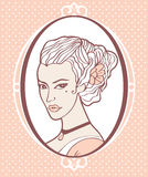 Vintage beauty Stock Photography