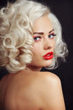 Vintage beauty Stock Images