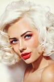 Vintage beauty Stock Image