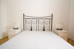Vintage bed Royalty Free Stock Photo