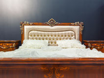 Vintage bed Royalty Free Stock Image