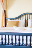 Vintage bed Stock Images