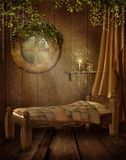 Vintage bedroom Royalty Free Stock Photography