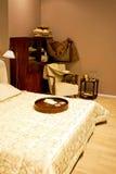Vintage bedroom Stock Images