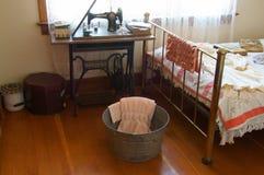 Vintage Bedroom Alaska Highway Royalty Free Stock Photos