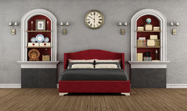 Vintage bedroom Royalty Free Stock Images