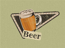 Vintage Beer Design Stock Photos