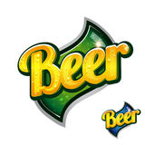 Vintage beer poster sign Royalty Free Stock Image