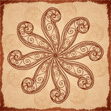 Vintage beige abstract background Royalty Free Stock Images