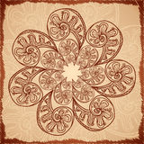 Vintage beige abstract background Stock Image