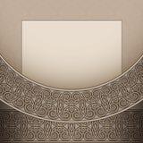 Vintage beige background Royalty Free Stock Photos