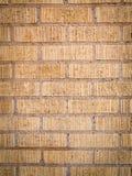 Vintage beige brick wall Royalty Free Stock Photo