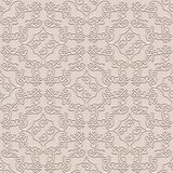 Vintage beige background, seamless pattern Stock Images