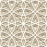 Vintage beige pattern Royalty Free Stock Image