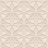 Vintage beige pattern Royalty Free Stock Image