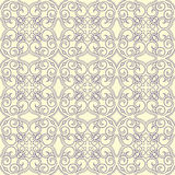 Vintage beige and purple pattern Royalty Free Stock Image