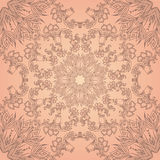 Vintage beige seamless texture with a floral pattern Royalty Free Stock Photography