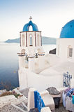 Vintage belfry in Oia, Santorini, Greece Royalty Free Stock Images