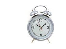Vintage Bell Style Alarm Clock Royalty Free Stock Photography