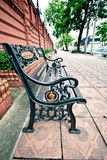 Vintage Bench Royalty Free Stock Photos