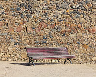 Vintage bench Stock Images
