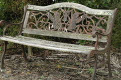Vintage bench Stock Image