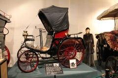 Vintage benz. Antique nineteenth century classic car. vintage 1892 Benz 5HP. Luray caverns car museum, Virginia Stock Photography