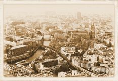 Vintage Berlin Royalty Free Stock Photos