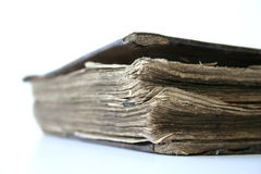 Vintage Bible stock image