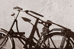 Vintage bicycle Royalty Free Stock Photography