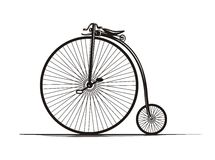Vintage Bicycle Stock Photography