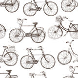 Vintage bicycle background Stock Photos