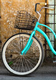 Vintage bicycle with basket Royalty Free Stock Photography