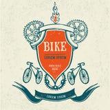Vintage bicycle frame Royalty Free Stock Photo