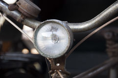 Vintage Bicycle Headlight Stock Photos