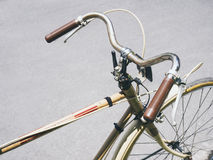 Vintage bicycle Hipster urban lifestyle Royalty Free Stock Photo