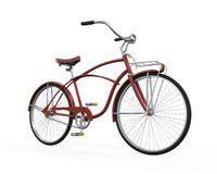 Vintage Bicycle Isolated Royalty Free Stock Photo