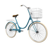 Vintage Bicycle Isolated. On white background. 3D render Royalty Free Stock Photography