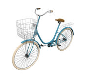 Vintage Bicycle Isolated. On white background. 3D render Stock Image