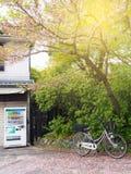 Vintage bicycle in Japan Stock Image