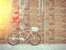 Free Vintage Bicycle Parked Beside Wooden Wall. Stock Image - 84259491