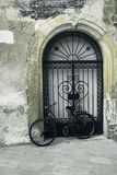 Vintage bicycle in Sicily, Italy Stock Photos